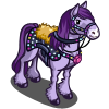 Purple Bedazzled Horse-icon