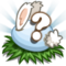 Blue Baby Bunny Eggs Stage 8-icon