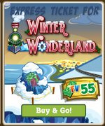 Winter Wonderland Market Ticket