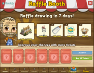 Raffle Booth Draw August 29 2011