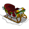 Gold Sleigh-icon