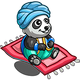 Flying Carpet Panda-icon