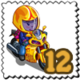 Racette Gnome Stamp-icon