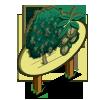 White Walnut Tree Mastery Sign-icon