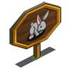 Gray Rabbit Mastery Sign-icon