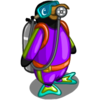 Snorkelling Penguin-icon