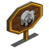 Elephant Mastery Sign-icon