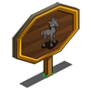 Grey Foal Mastery Sign-icon