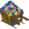 Spring Flower Cart-icon