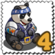 Road Panda Stamp-icon