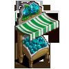 Aquamarine Rose Stall-icon