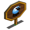 Fan Sheep Mastery Sign-icon