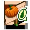 Organic Pumpkin Mastery Sign-icon