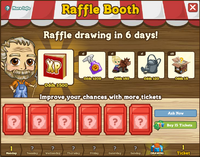 Raffle Booth Draw 6 March 2012