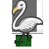 White Flamingo-icon