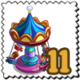 Seated Swing Ride Stamp-icon