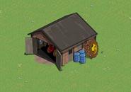 Garage on a farm