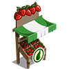 Organic Strawberry Stall-icon