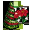 Poinsettia Tree-icon