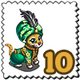 Arabian Prince Cheetah Stamp-icon