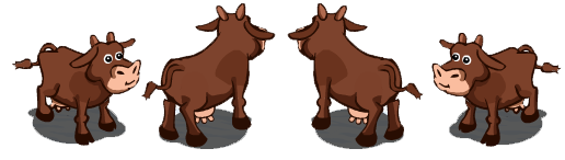 Brown Cow Rotate