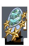 Shiny Daisy Cake 5 Star Mastery Sign-icon
