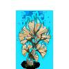 Paper Fire Tree-icon