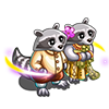Racoon Thai Couple-icon