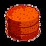 Orange Round Hay-icon