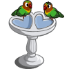 Love Bird Bath-icon