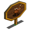 Longhorn Calf Mastery Sign-icon