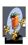 Kangaroo Paw Cocktail 3 Star Mastery Sign-icon