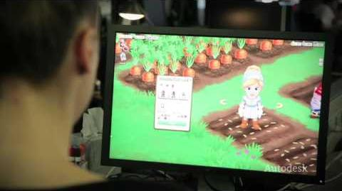 Creating FarmVille 2 with 3ds Max