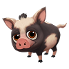 Baby Black Pink Spotted Ossabaw Pig.png