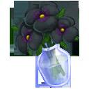 Black Pansy Bouquet