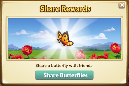 Butterfly House catch butterfly