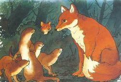 Lean Fox and Sleek Otter