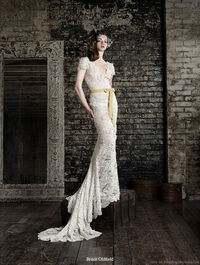 Bruce oldfield wedding dress