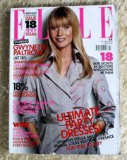 ELLE Oktober 2003-UK Ausgabe Gwyneth Paltrow
