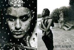 Lakshmi Menon - Rita Kumar Spring Summer 2010 - 1
