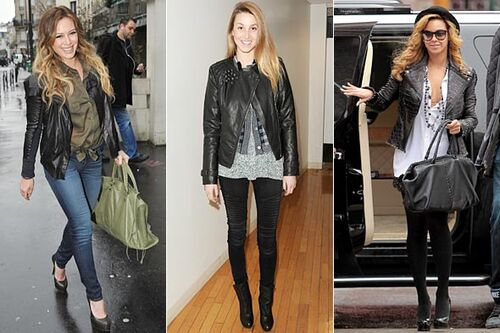 Hilary-duff-whitney-port-beyonce-black-leather-jackets-590bes020311