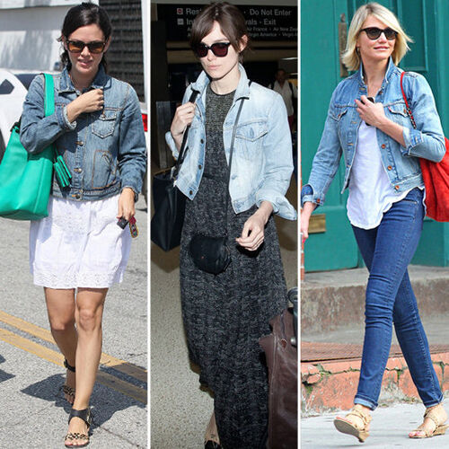 Celebrities-Denim-Jackets