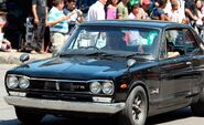 Paul Walker (Brian O'Conner) in the Skyline GT-R (Fast Five)