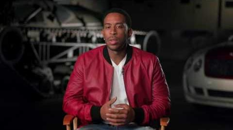 "The Fate of the Furious Chris 'Ludacris' Bridges ""Tej"" Behind the Scenes Movie Interview"