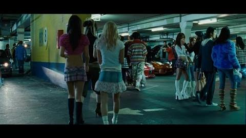 "Fast and Furious Tokyo Drift - Parking garage scene. ""Teriyaki boyz"" Blu-ray, 4K"