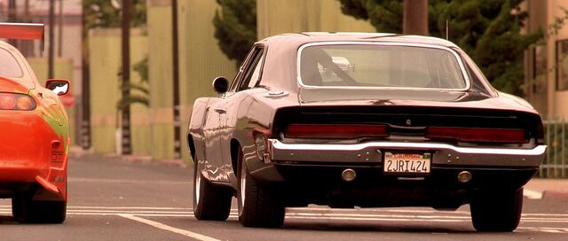 File:Dominic's Charger - Rear View.jpg