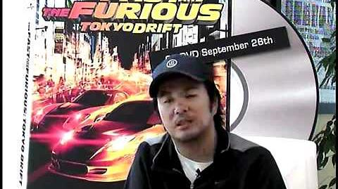 The Fast and the Furious Tokyo Drift - Exclusive Director Justin Lin - Part 1