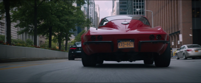 File:1966 C2 Sting Ray (Rear View - License Plate).png