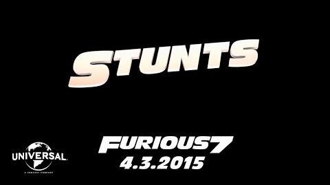 Furious 7 Cast Favorites - Stunts (HD)