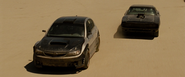 Brian's WRX STI & Dom's Charger - Mexican Desert